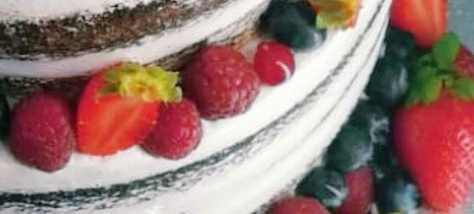 tarta de bodas sin lactosa
