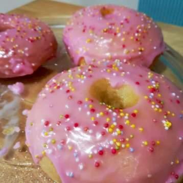 donut vegano