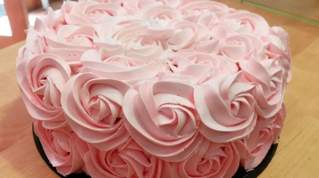 tarta rosas